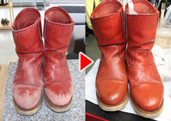 ブーツ修理